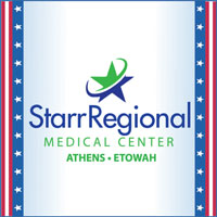 Visit McMinn Sponsor Starr Regional Medical Center